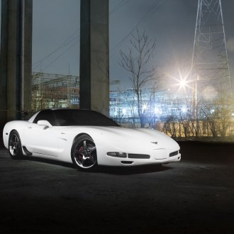 Luxury Muscle: Reworked White Chevy Corvette