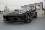 Black Chevy Corvette Received a Number of Cosmetic Touches