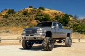 Classy Silverado gets a Big Lift and Wide Fuel Off-road Wheels