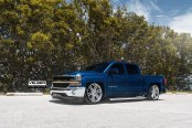 An SUV Whose Style is Substance: Lowered and Aggressive Chevy Silverado