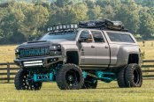 Epic Off-Road Tuning and Serious Body Lift For Chevy Silverado
