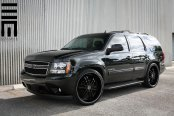 Black Tahoe Rolling on 24 Inch Rims by Exclusive Motoring