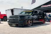 Heavy Modified Chevy Tahoe Attention Stealer