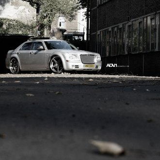 Classy Chrysler 300 With Lowered Suspension and ADV1 Custom Wheels