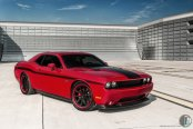Hard to Ignore: Appled Red Dodge Challenger Hemi