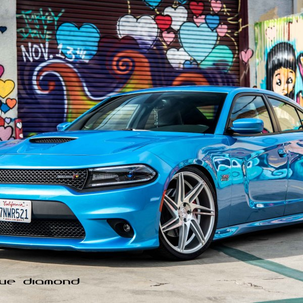 with custom wheels charger general srt asanti dodge
