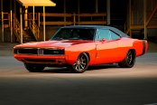 Dodge Perfection: Red Charger on Bronze Forgeline Wheels
