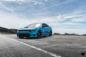 Not Your Ordinary Car: Blue Dodge Charger with Contrasting Black Accents
