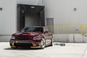 Unexpected Yellow Accents Reveal the Best Spirit of Burgundy Dodge Charger