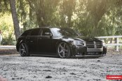Black Dodge Magnum SRT8 Taken to Another Level with Custom Parts