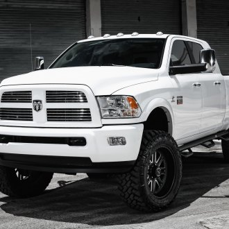 Ram 2500 Mega Cab On American Force Wheels Photo By Exclusive Motoring