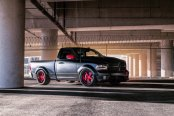 Hate It or Love It: Custom Gray Dodge Ram Featuring Pink Accents
