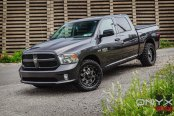 Dodge Ram Never Looked So Good: Gray and Shod in Onyx Wheels