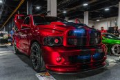 Truck that Turns Heads: Red Ram Boasting Custom Lighting and Aftermarket Mods