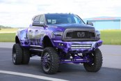 Zombie-Apocalypse Ram Truck Rocking Custom Off-Road Styling