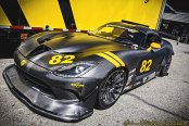 Crazy Carbon Fiber Body Kit on Black Dodge Viper
