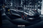 Titanium Transformer: Custom Gray Debadged Dodge Viper