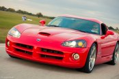 Super Clean Dodge Viper Fitted With Polished Custom Rims by ADV1