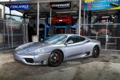 Silver Ferrari 360 Goes Through Stylish Makeover