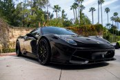 Unrestrained Horse: Black Ferrari 458 Went Through Transformation