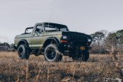 Dominating Full-Size Bronco Put on Large Fuel Off-road Wheels