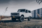 Astonishing Bronco Restomod gets Tough Fuel Off-road Wheels