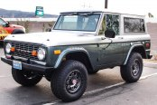 Classic Bronco Fitted With Modern Off-road Wheels by Fuel