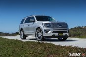 Improved Face of Silver Ford Expedition with Custom Mesh Grille