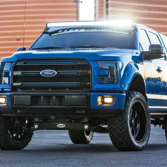 Ford Excursion inspired F150 Truck with a Camper Shell