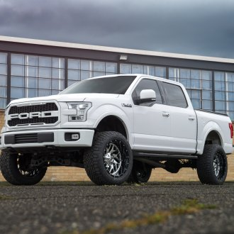 Visual Styling Tweaks and Large Off-road Wheels on Ford F150