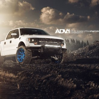 Mighty F150 Raptor on Custom Painted Off-road Rims by ADV1