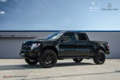Murdered Out Lifted Ford F-150 Makes a Lasting Impression
