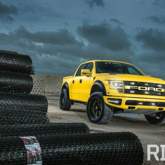 Bright Yellow Ford F-150 Raptor Gallery
