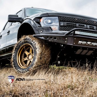 First Generation Raptor On Gold ADV.1 Off-road Rims