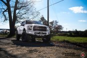 Custom Elements Highlight Dramatic Appearance of Lifted Ford F-150