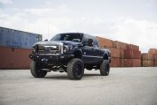 Blending In and Standing Out: F250 Super Duty on Tough Fuel Wheels