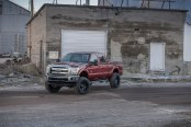 Ford F250 With Proper Mods - Suspension Lift and Fuel Off-road Wheels