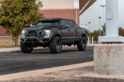 Matte Black F-250 Benefits From Haute Couture Matte Black Exterior