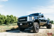 Rebel Off-Road Black Lifted Ford F-350