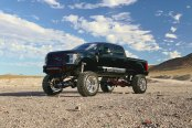 Dark Green F-350 Shows Off Custom Body Lift and Off-Road Parts