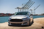 Stanced and Exotic: Ford Fusion Taken to Another Level by Custom Body Styling