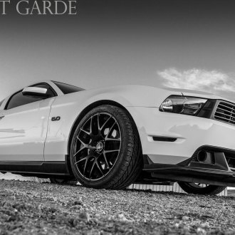 Bold White Ford Mustang Gets Custom Chrome Grille and More