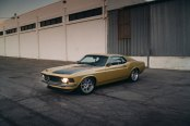 Captivating Olive Ford Mustang