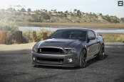 Most Proper Pony: Customized Gray Ford Mustang
