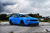Blue Pony: Custom Debadged Ford Mustang 5.0