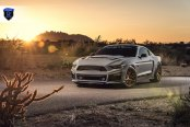 Very Loud, Very Mean: Customized Gray Ford Mustang