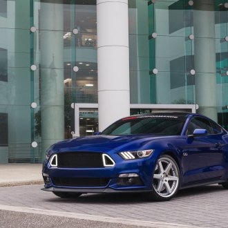Proper Neat Tuning of Blue Ford Mustang