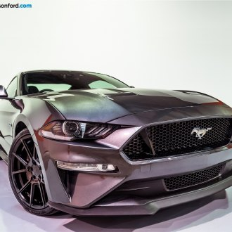Awesome Paint Job Detected: Ford Mustang GT Outfitted with TSW Wheels