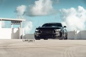 Blacked Out Ford Mustang with Stylish Exterior Tweaks
