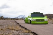 Hottest and Baddest Dropped Candy Green GMC Sierra